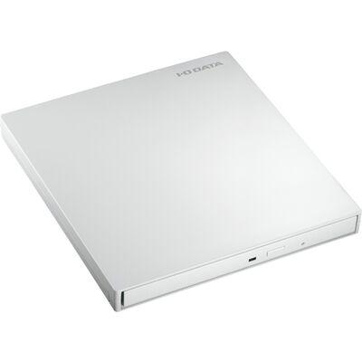 USB3.0バスパワー対応 9.5mmスリムドライブ採用ポータブルブルーレイドライブ パールホワイト EX-BD03W