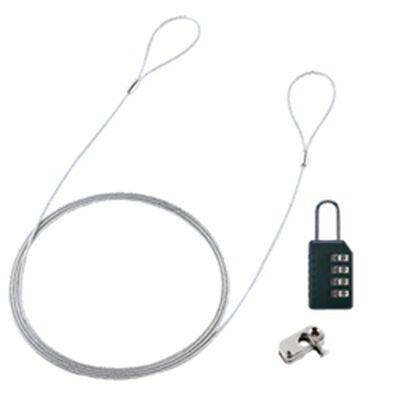 パソコンセキュリティワイヤーロック(ダイヤル錠タイプ) SL-58