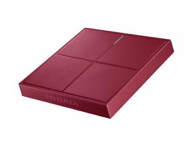 USB3.2 Gen1(USB3.0)対応ポータブルSSD 2TB ラズベリーレッド SSPL-UT2R