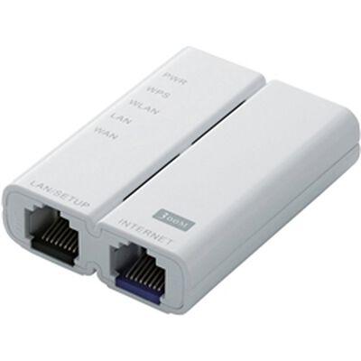 法人向け無線LANルーター/ホテル用/300Mbps/ホワイト/白箱 WRH-300WH-H