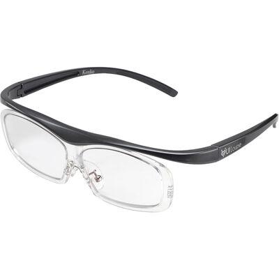 眼鏡型拡大鏡 ユイルーペ(YUIルーペ) レギュラーサイズ 1.6倍 KTL-5101RGR (グレー)