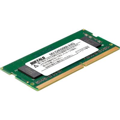 PC4-2666対応 260ピン DDR4 SO-DIMM 4GB MV-D4N2666-X4G