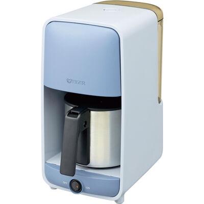 コーヒーメーカー ステンレスサーバータイプ 1~6杯用 サックスブルー ADC-A060AS