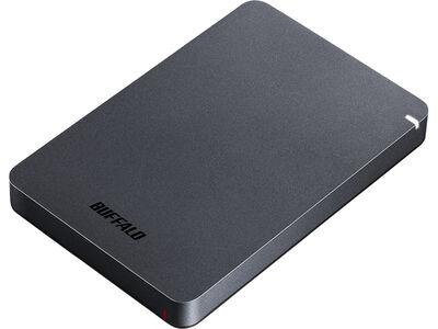 USB3.1(Gen.1)対応 耐衝撃ポータブルHDD 1TB ブラック HD-PGF1.0U3-BKA