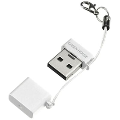 USB2.0カードリーダ/ライタ(microSD) ホワイト GH-CRMR-MMW