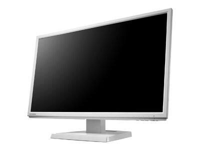 「5年保証」広視野角ADSパネル採用 21.5型ワイド液晶ディスプレイ ホワイト LCD-AH221EDW