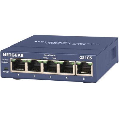 GS105 ギガ5ポート アンマネージ・スイッチ GS105-500JPS