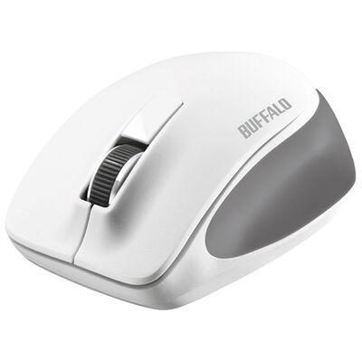 無線 BlueLED 3ボタン プレミアムフィットマウス ホワイト BSMBW300MWH