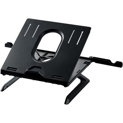 ノートPCスタンド/折りたたみ8段階/9.5cm/ブラック PCA-LTSH8BK