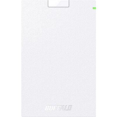 ミニステーション USB3.1(Gen.1)対応 ポータブルHDD スタンダードモデル ホワイト 500GB HD-PCG500U3-WA