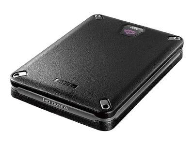USB3.2 Gen1(USB3.0)/2.0対応 自動暗号化&耐衝撃モデル ポータブルSSD 500GB HDPD-SUTB500S