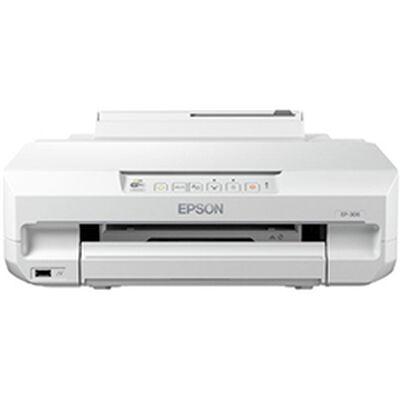 A4インクジェットプリンター/単機能/有線・無線LAN/6色染料/Epson iPrint対応 EP-306