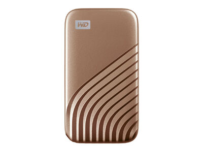 My Passport SSD 2020 Hi-Speed 2TB ゴールド WDBAGF0020BGD-JESN