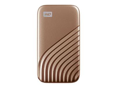 My Passport SSD 2020 Hi-Speed 500GB ゴールド WDBAGF5000AGD-JESN
