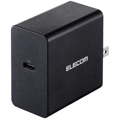 ノートPC用ACアダプター/PD対応/45W/Type-C1ポート/GaN(窒化ガリウム)/ブラック ACDC-PD0745BK