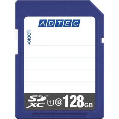 SDXCカード 128GB UHS-I Class10 データ復旧サービス付き AD-SDTX128G/U1