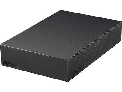 USB3.2(Gen.1)対応外付けHDD 4TB ブラック HD-LE4U3-BA