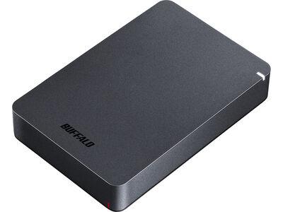 USB3.1(Gen.1)対応 耐衝撃ポータブルHDD 5TB ブラック HD-PGF5.0U3-GBKA