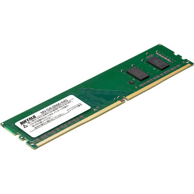 PC4-2666対応 288ピン DDR4 U-DIMM 4GB MV-D4U2666-X4G