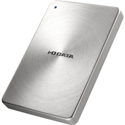 USB3.0/2.0対応 ポータブルハードディスク 「カクうす」 1.0TB シルバー HDPX-UTA1.0S