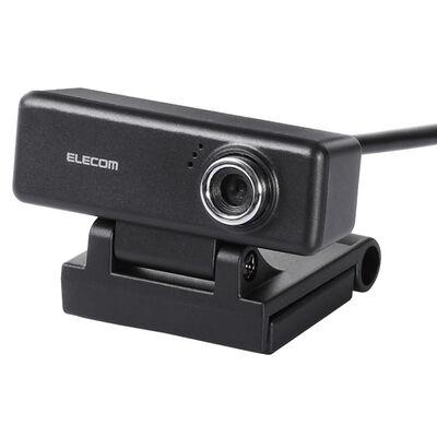 PCカメラ/200万画素/マイク内蔵/高精細ガラスレンズ/ブラック UCAM-C520FBBK
