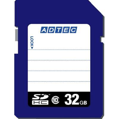 SDHCカード 32GB Class10 データ復旧サービス付き AD-SDTH32G/10