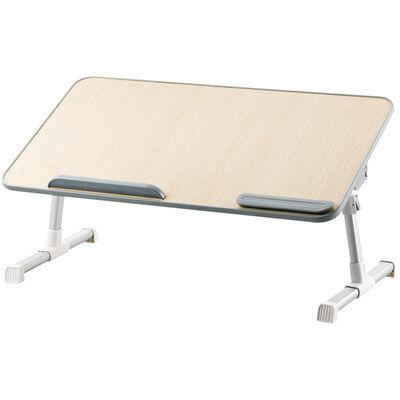 折りたたみノートPCテーブル/60cm/オーク調 PCA-LTTT6033OAK