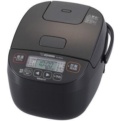 小容量マイコン炊飯ジャー 3合 ブラック NL-BD05-BA