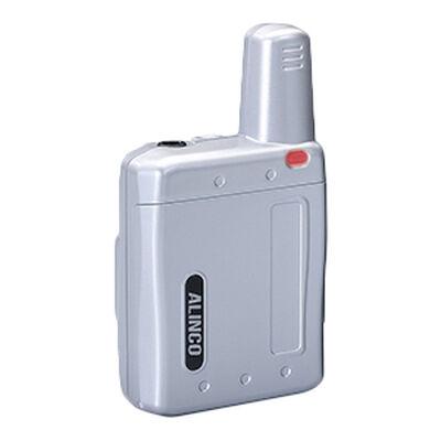 超小型 特定小電力トランシーバー ラペルトーク シルバー DJ-PX7S