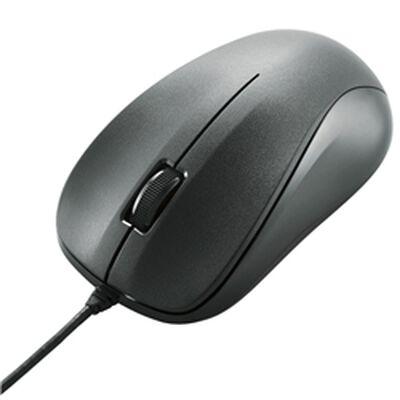 EU RoHS指令準拠 USB光学式マウス/スタンダードサイズ/簡易パッケージ仕様/ブラック M-K6URBK/RS