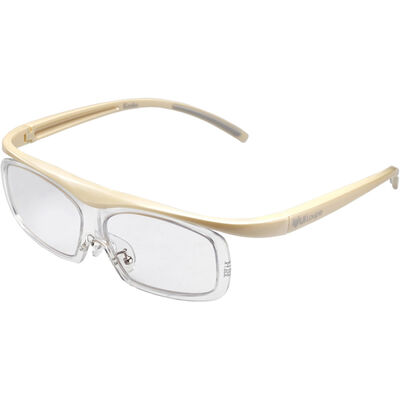 眼鏡型拡大鏡 ユイルーペ(YUIルーペ) ラージサイズ 1.6倍+1.89倍セット KTL-5108LIV (アイボリー)