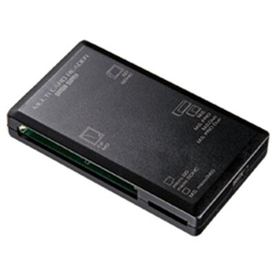 USB2.0 カードリーダー ADR-ML1BK