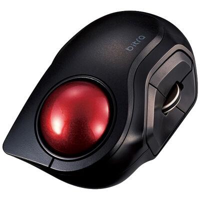 トラックボールマウス/小型/人差し指/5ボタン/静音/Bluetooth/ブラック M-MT2BRSBK
