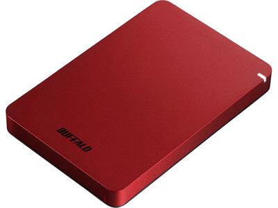 USB3.1(Gen.1)対応 耐衝撃ポータブルHDD 1TB レッド HD-PGF1.0U3-RDA