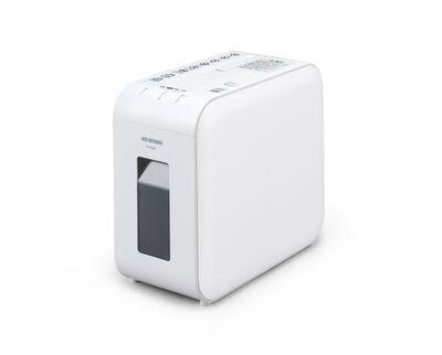 超静音細密シュレッダー マイクロカット ホワイト P4HMS-W