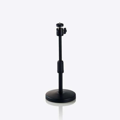 WEBカメラ用卓上スタンド/GoPro用アダプタ付属/ブラック UCAM-DSARMBK