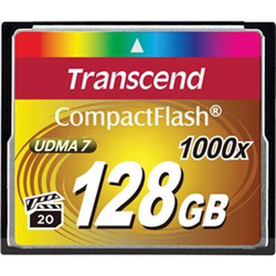 128GB コンパクトフラッシュカード 1000xシリーズ TS128GCF1000