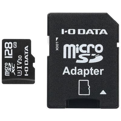 UHS-I UHSスピードクラス3/Video Speed Class 30対応 microSDメモリーカード 128GB MSDU13-128G