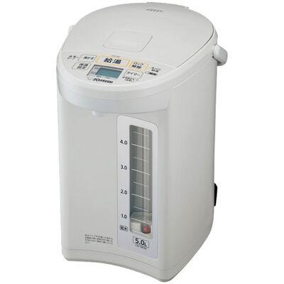 マイコン沸とう電動ポット 5.0L ホワイトグレー CD-SE50-WG