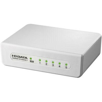 100BASE-TX/10BASE-Te対応 5ポート レイヤー2スイッチングハブ ホワイト ETX-ESH05WC