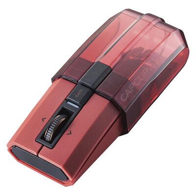 Ultimate Blueマウス/CAPCLIP PRO/Bluetooth5.0対応/4ボタン/レッド M-CCP1BBRD