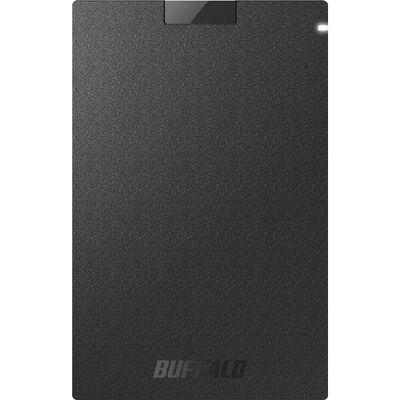USB3.2(Gen1) ポータブルSSD Type-A 2.0TB ブラック SSD-PG2.0U3-BC