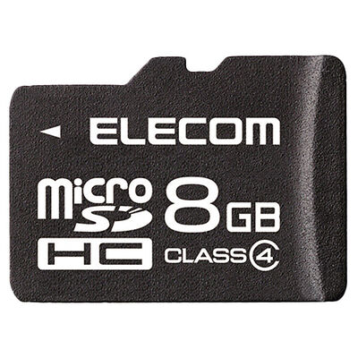 microSDHCカード/Class4/8GB/法人専用/簡易パッケージ MF-MSD008GC4/H