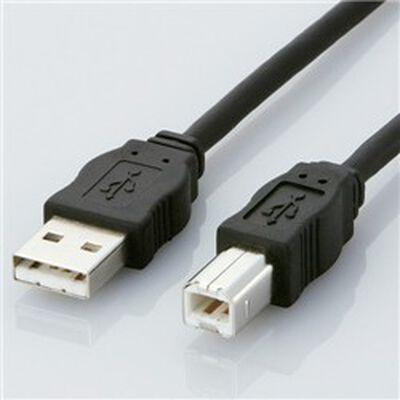 USBケーブル ABタイプ/5.0m(ブラック) USB2-ECO50