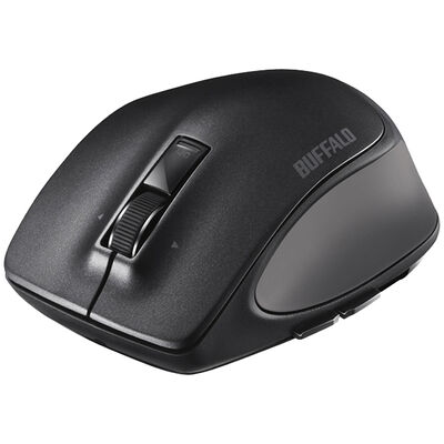Bluetooth BlueLED プレミアムフィットマウス Lサイズ ブラック BSMBB500LBK