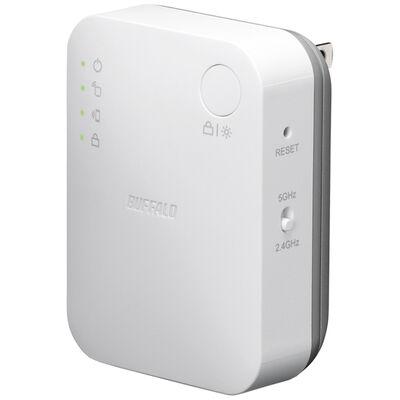無線LAN中継器 11ac/n/g/b 433+300Mbps エアステーション ハイパワー WEX-733DHP