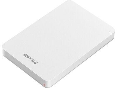 USB3.1(Gen.1)対応 耐衝撃ポータブルHDD 1TB ホワイト HD-PGF1.0U3-WHA
