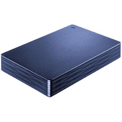 USB3.1 Gen1/2.0対応ポータブルハードディスク「カクうす Lite」 ミレニアム群青 2TB HDPH-UT2DNVR