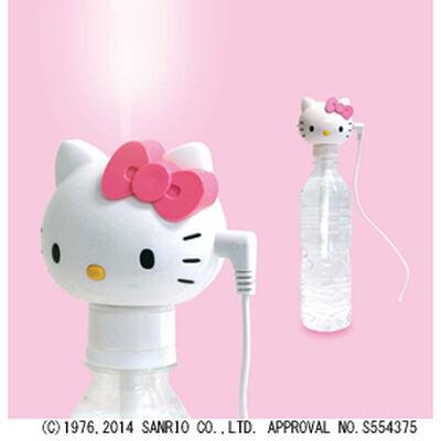 ペットボトル式超音波加湿器 ハローキティ USB式電源タイプ TK-28