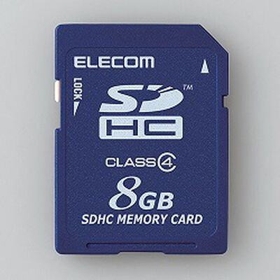 SDHCカード/Class4/8GB/法人専用/簡易パッケージ MF-FSD008GC4/H